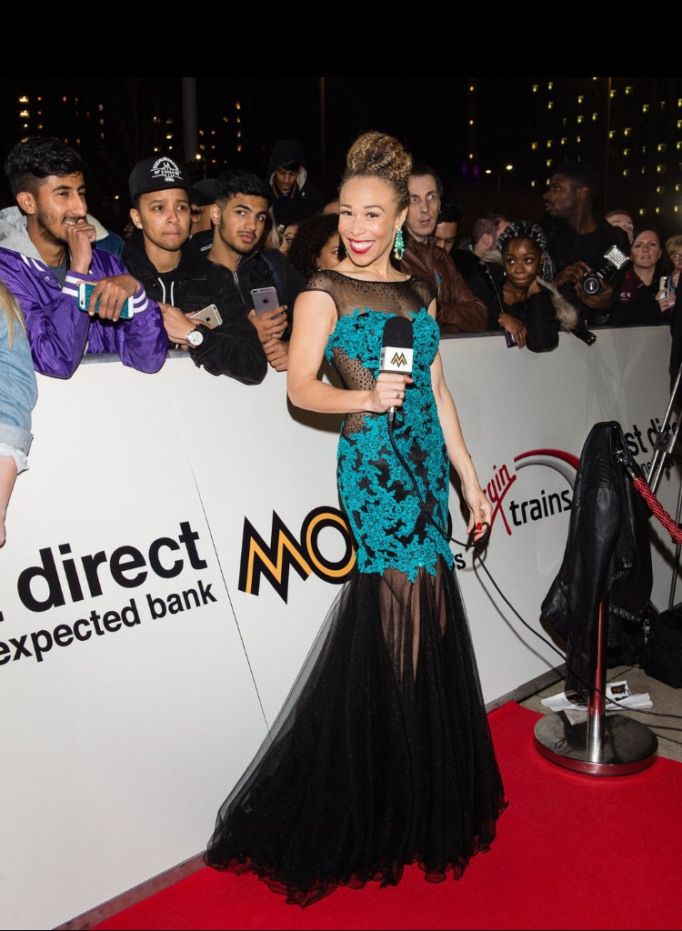 Ria Red Carpet MOBO